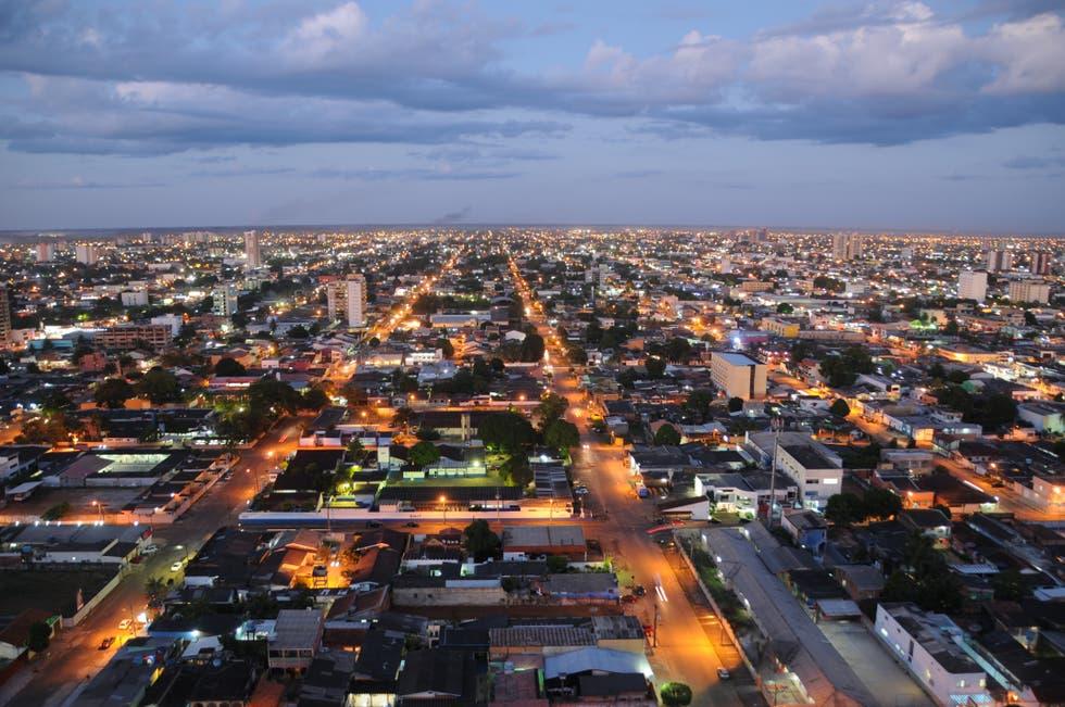 Segunda-feira ensolarada, seca e ventilada, com declínio da temperatura noturna, no Acre, Rondônia, Mato Grosso, Goiás, Distrito Federal e sul do Amazonas